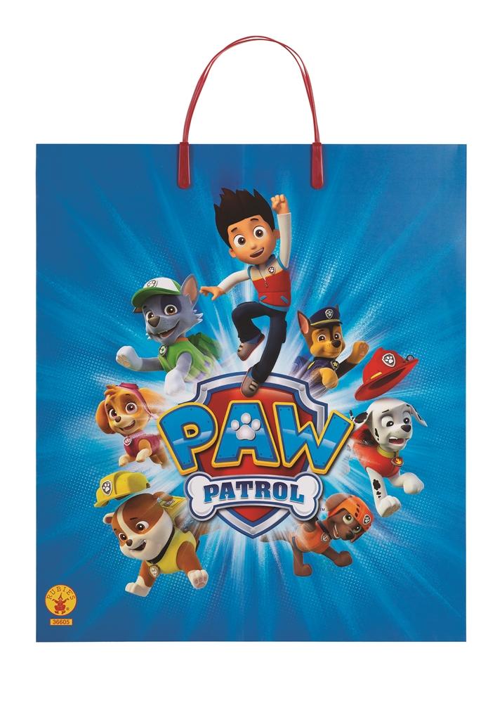 Paw Patrol Plastic Tote Bag