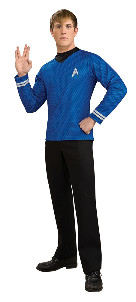 Star Trek Deluxe Spock Adult Mens Shirt