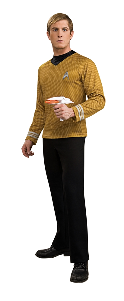 Star Trek Deluxe Captain Kirk Adult Mens Shirt