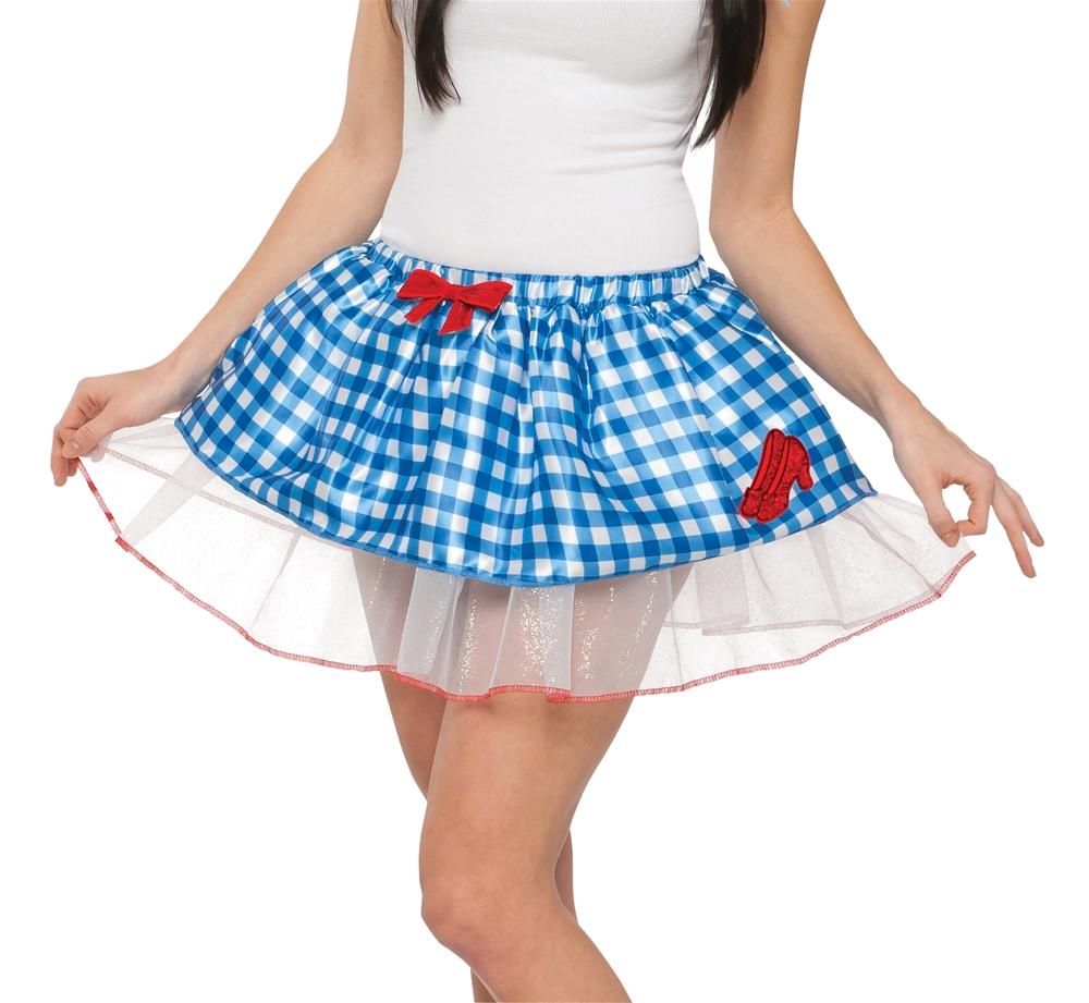 Wizard of Oz Dorothy Adult Womens Tutu Skirt (Tutu Skirts Adults)
