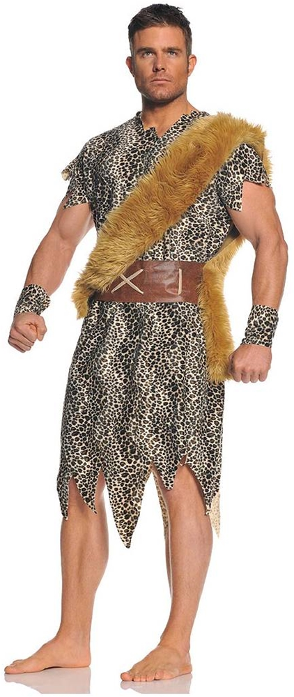 Cave Dweller Caveman Adult Mens Costume