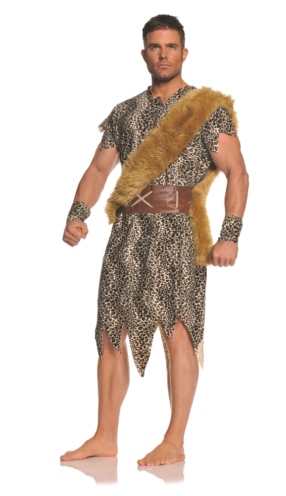 Cave Dweller Caveman Adult Mens Plus Size Costume