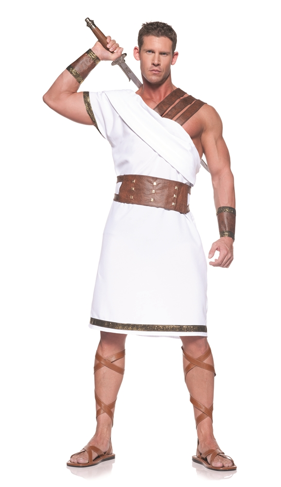 Greek Olympian Warrior Adult Mens Costume