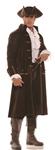 Pirate Captain Barrett Adult Mens Plus Size Costume