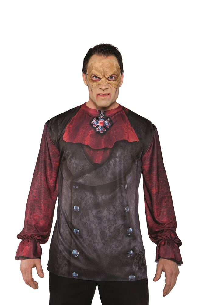 Victorian Vampire Adult Mens Shirt