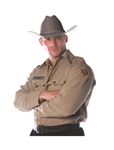 Sheriff Adult Mens Plus Size Shirt
