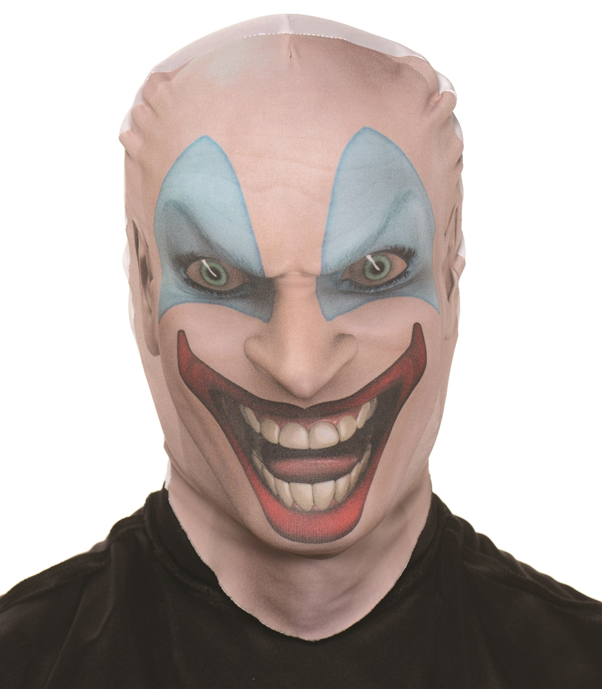 Killer Clown Skin Mask 356033 Trendyhalloween Com