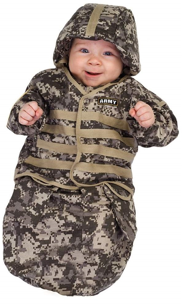 U.S. Army Baby Bunting Costume