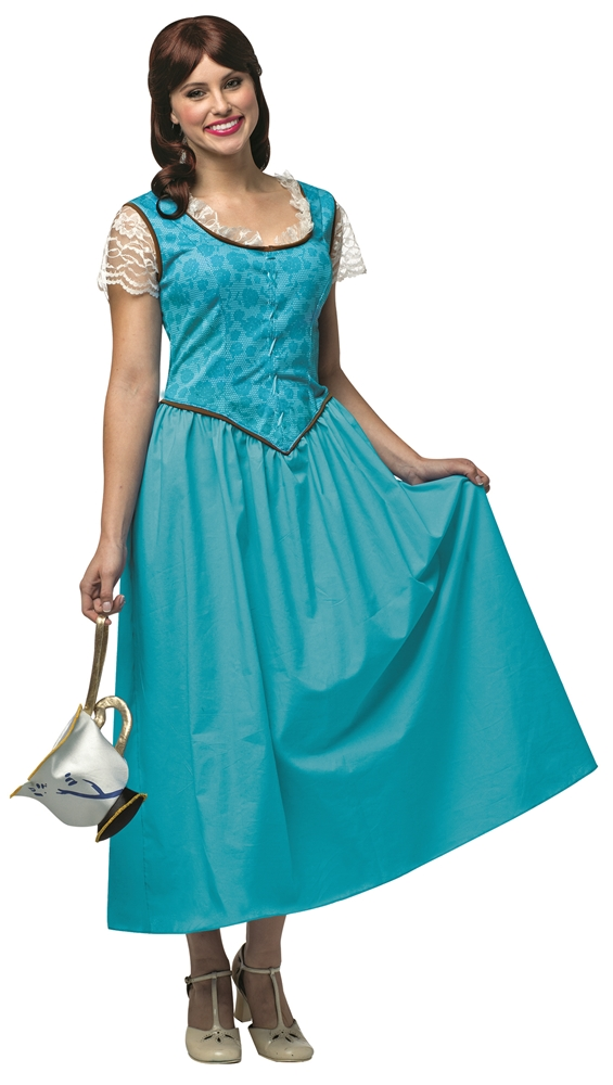 Once Upon a Time Belle Adult Womens Plus Size Costume