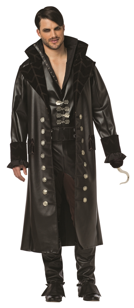 Once Upon a Time Hook Adult Mens Plus Size Costume
