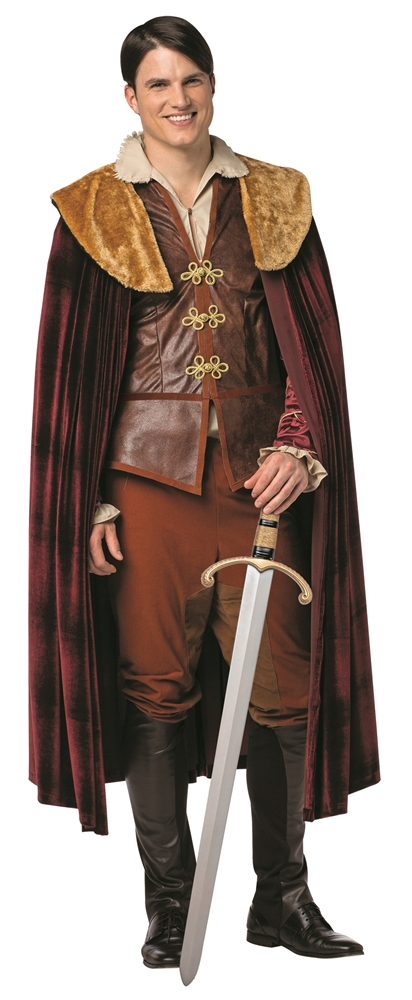 Once Upon a Time Prince Charming Adult Mens Plus Size Costume