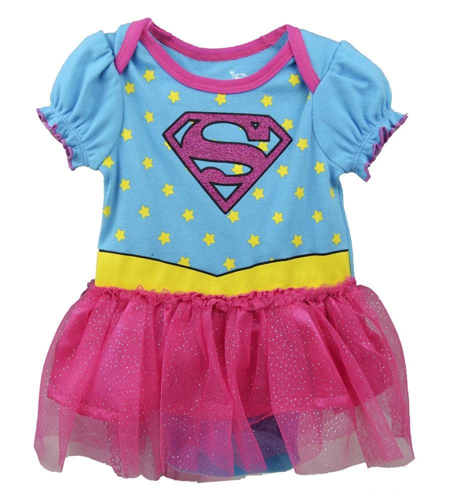 Supergirl Tutu Infant Onesie