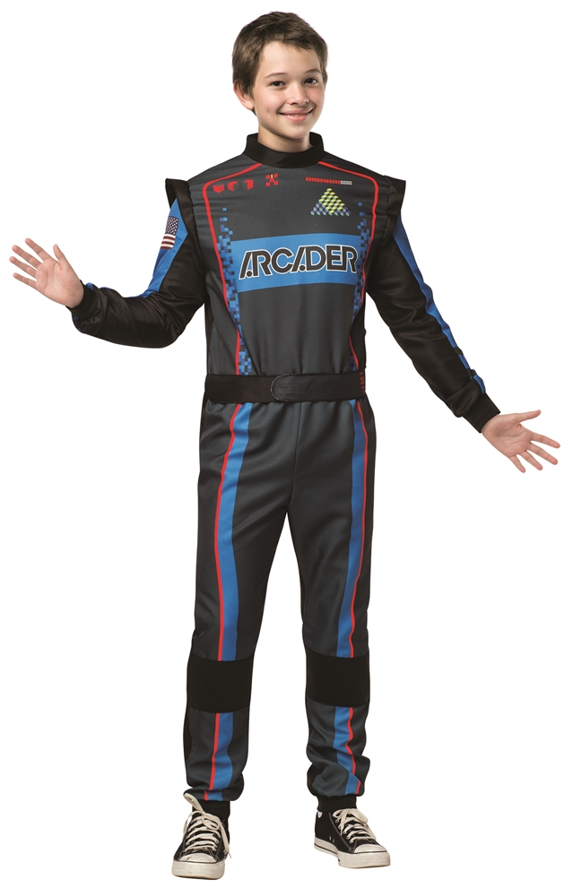 Pixels Arcader Suit Tween Costume