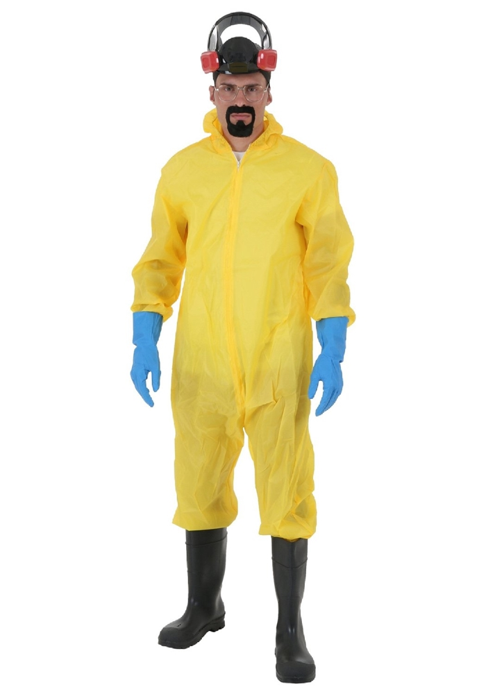 Breaking Bad Toxic Suit Adult Mens Plus Size Costume