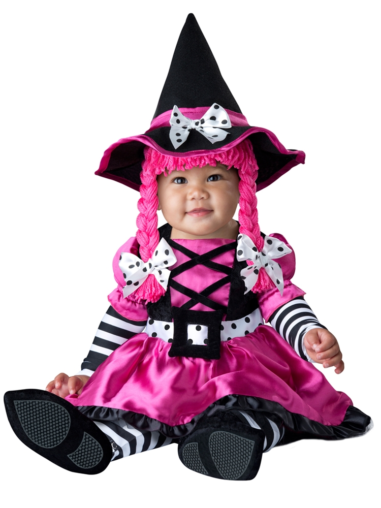 Wee Pink Witch Infant Costume