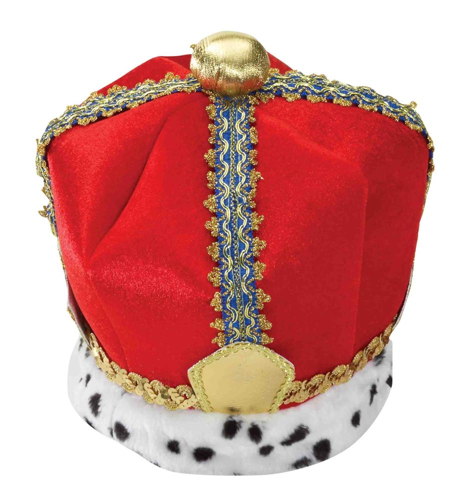 Velvet King Crown by Forum Novelties