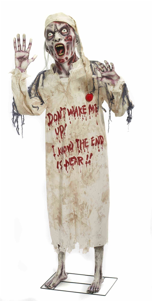 Life-Sized Sleepy Zombie Standing Prop by Forum Novelties