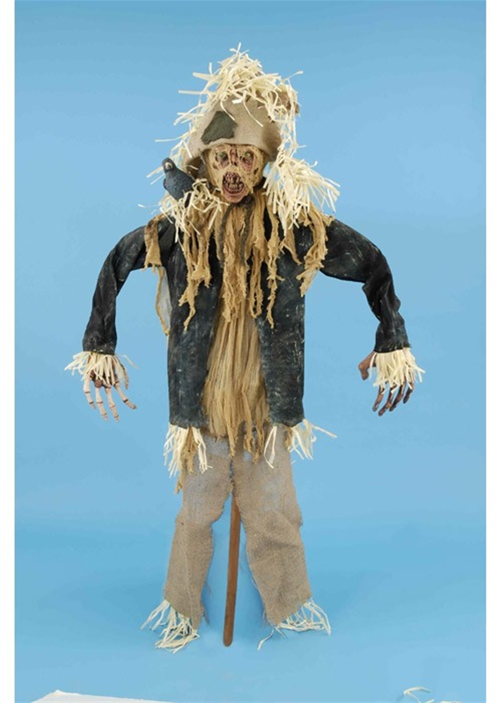 Life-Sized Scarecrow with Crow Standing Prop by Forum Novelties