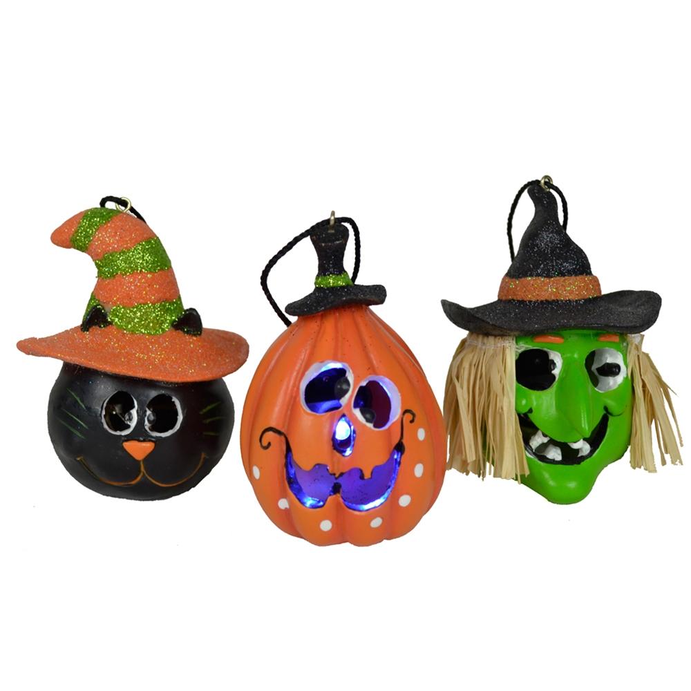 [Light-Up Halloween Ornament (More Styles)] (Halloween Lighting)