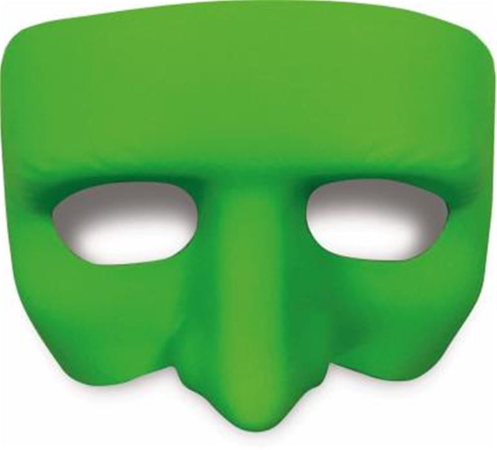 Green Gonzo Half Mask