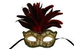 Harmony-Masquerade-Mask-with-Feathers-(More-Colors)