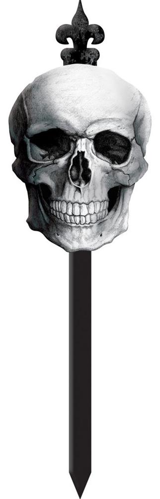 Skull Yard Stake (Yard Stakes)