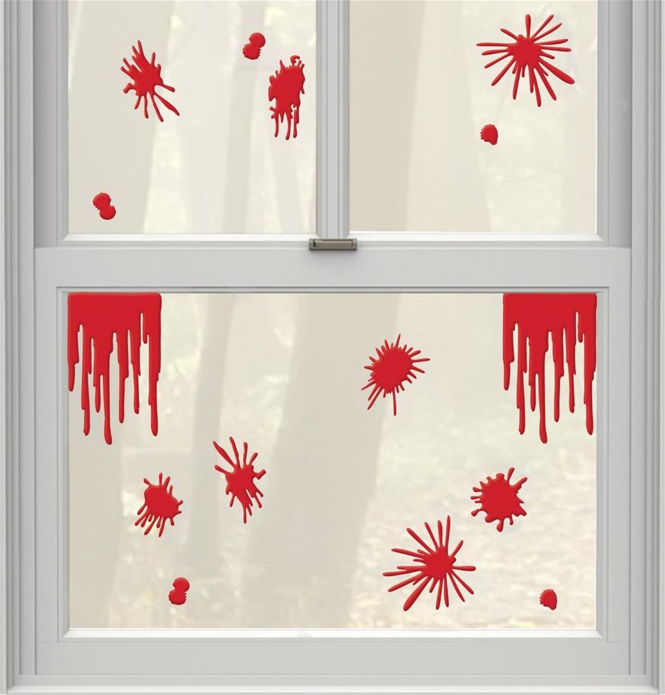 Asylum Blood Splats & Drips Gel Clings