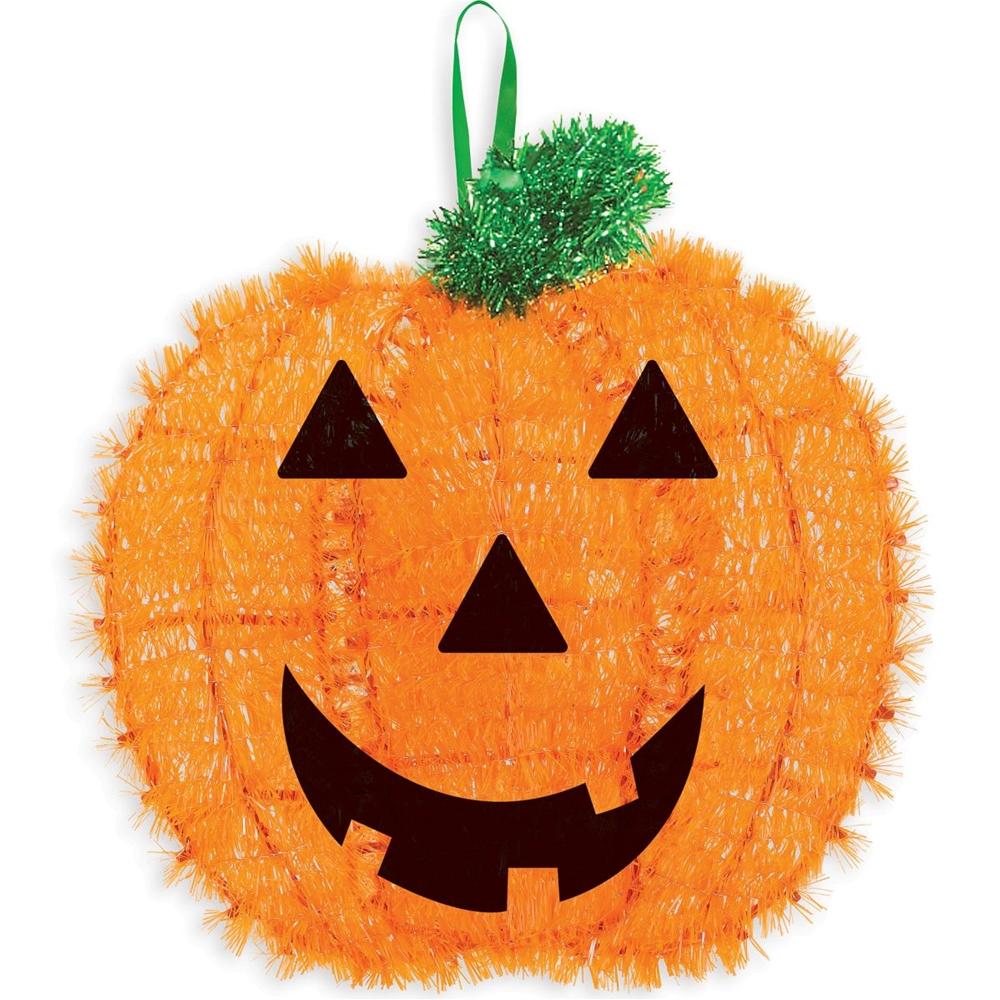 Pumpkin Tinsel Decoration