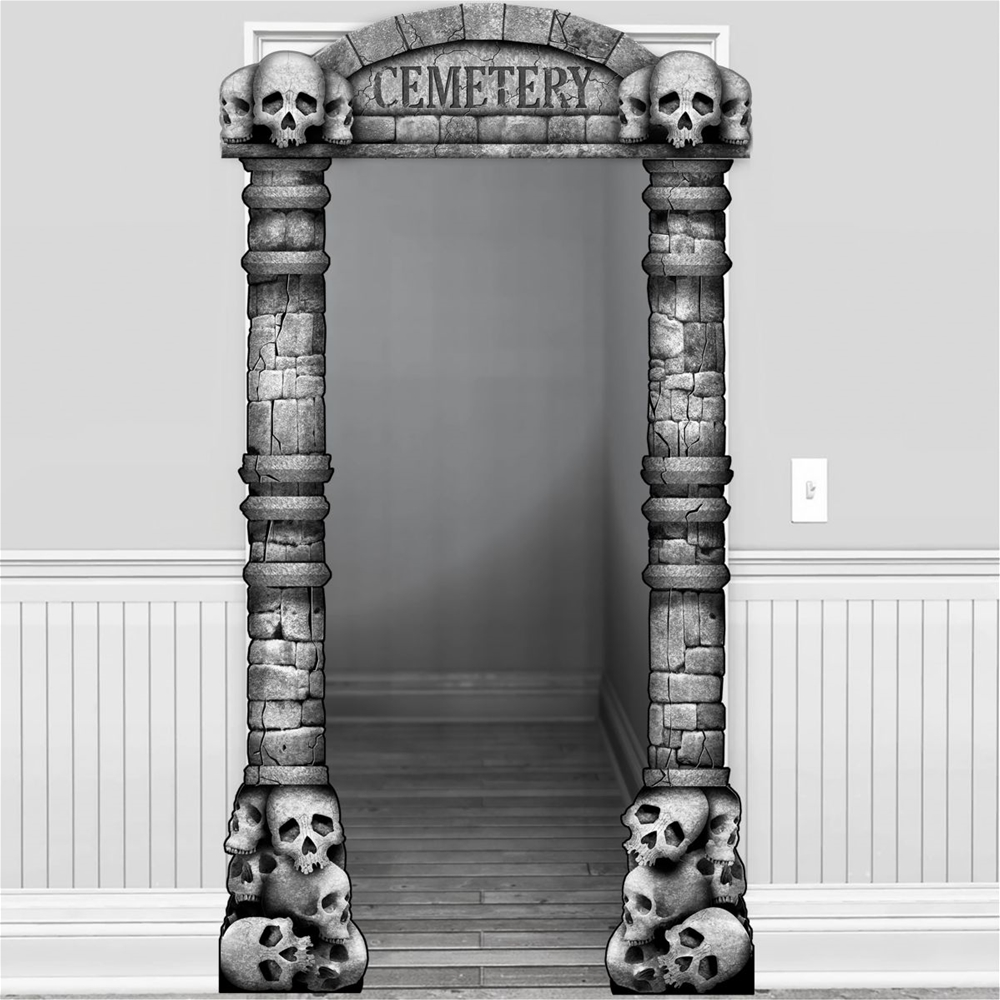 Cemetery Deluxe Doorway Entry