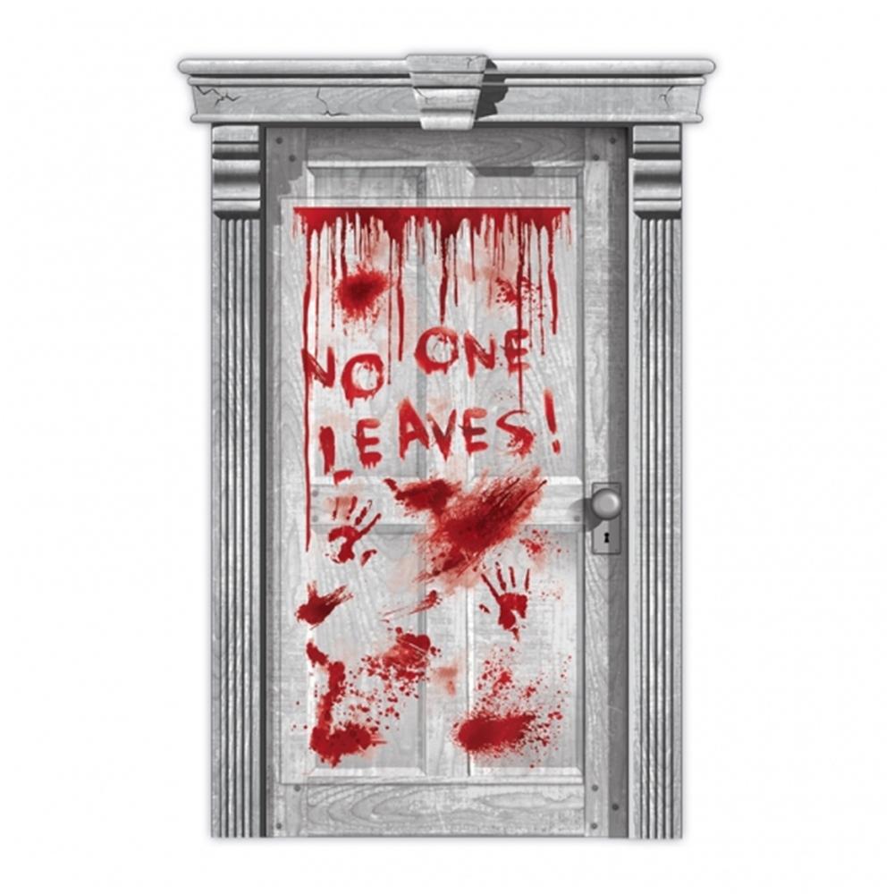 Asylum Dripping Blood Door Decoration