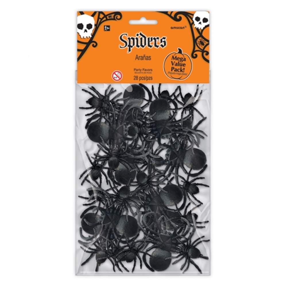 Spider Party Favors Pack 28ct by Amscan