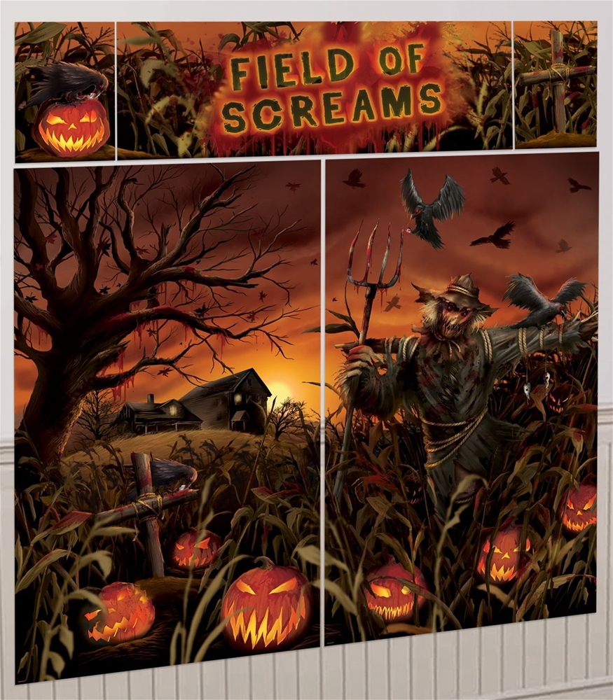 Field of Screams Scene Setter Decoration Kit by Amscan