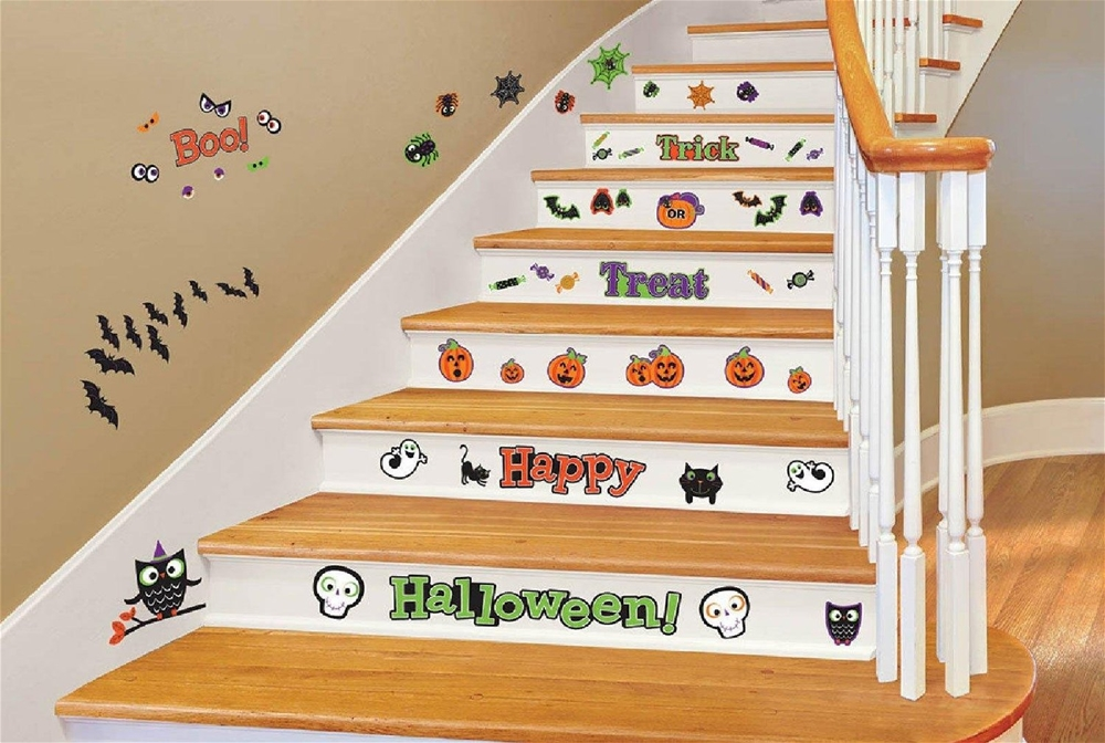 Family Friendly Halloween Wall Decal Kit