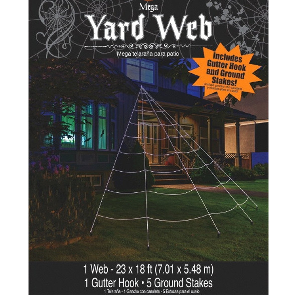 Mega Yard Web Decoration