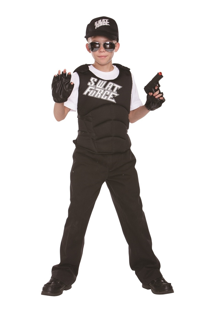 SWAT Force Child Costume Set