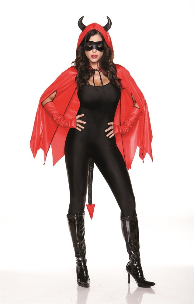 Wicked Devil Cape Costume Kit