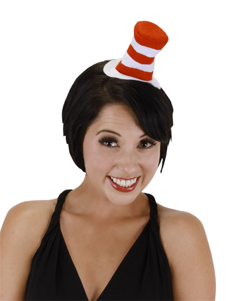 Dr. Seuss Cat in the Hat Mini Headband by Elope