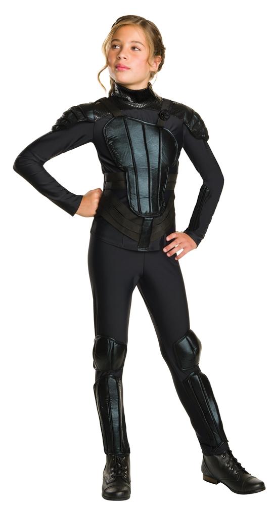 Hunger Games Mockingjay Part 1 Deluxe Katniss Tween Costume