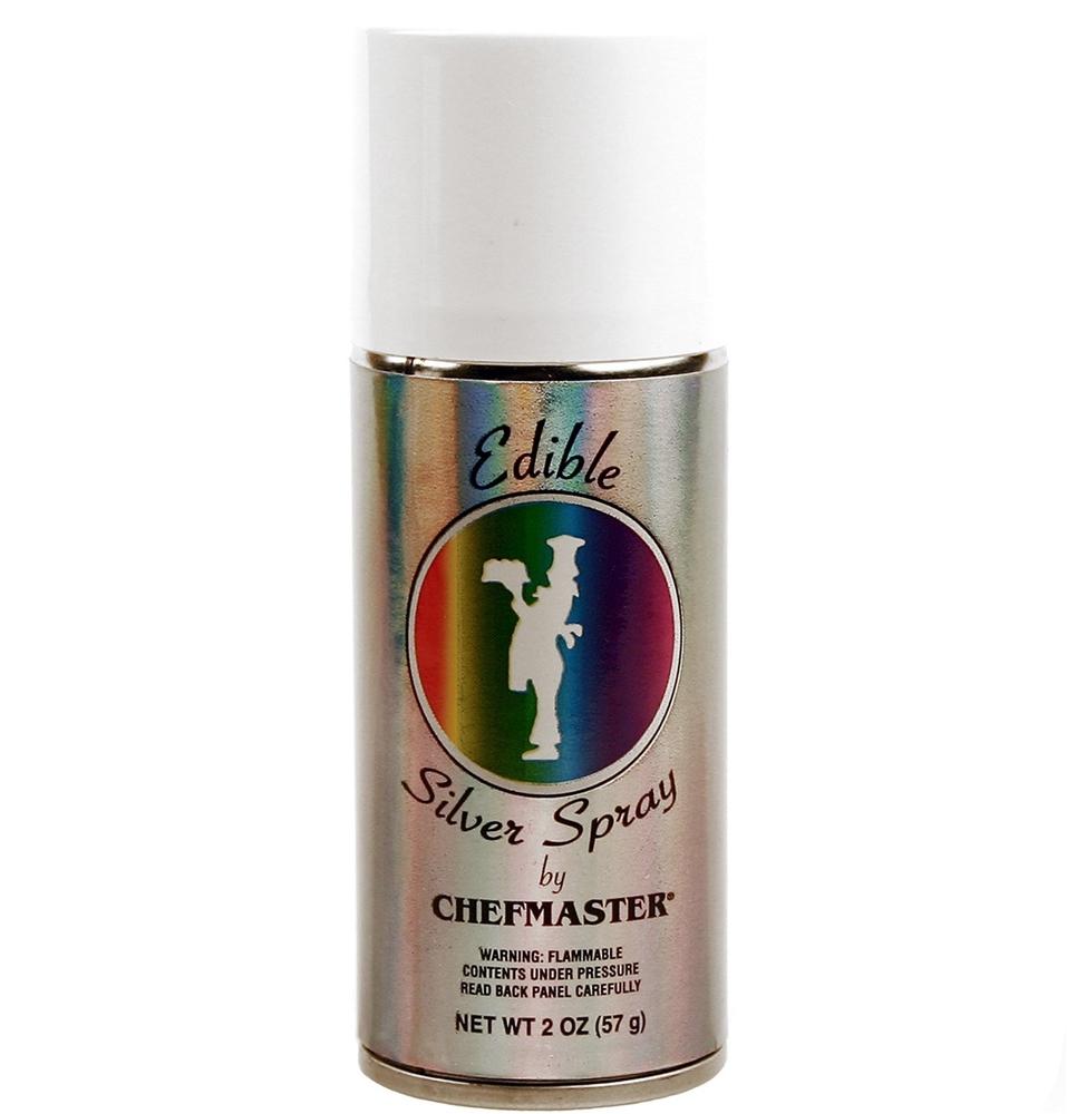Edible Silver Spray 2oz by Chefmaster