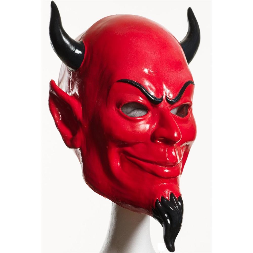 The Devil S Music De Maskers: Scream Queens Deluxe Devil Latex Mask