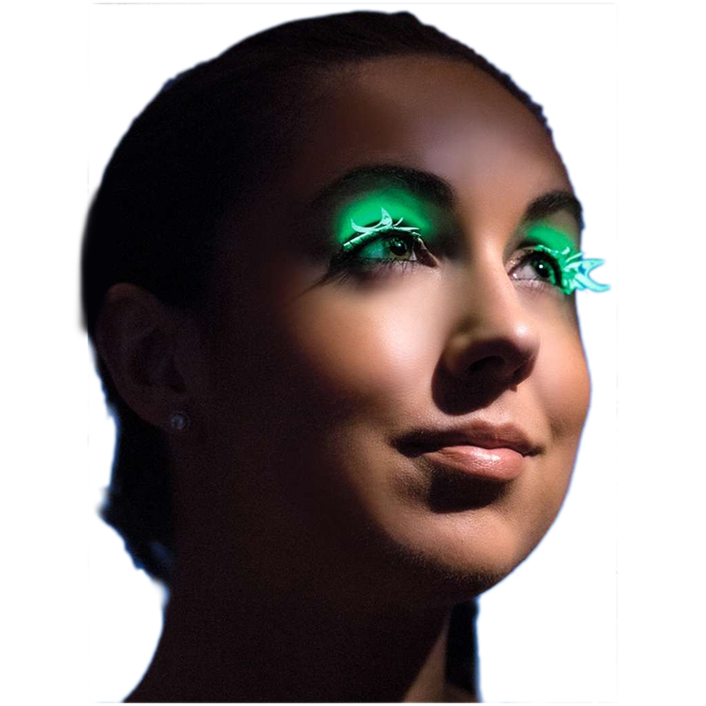 Glow in the Dark Butterfly Eyelashes