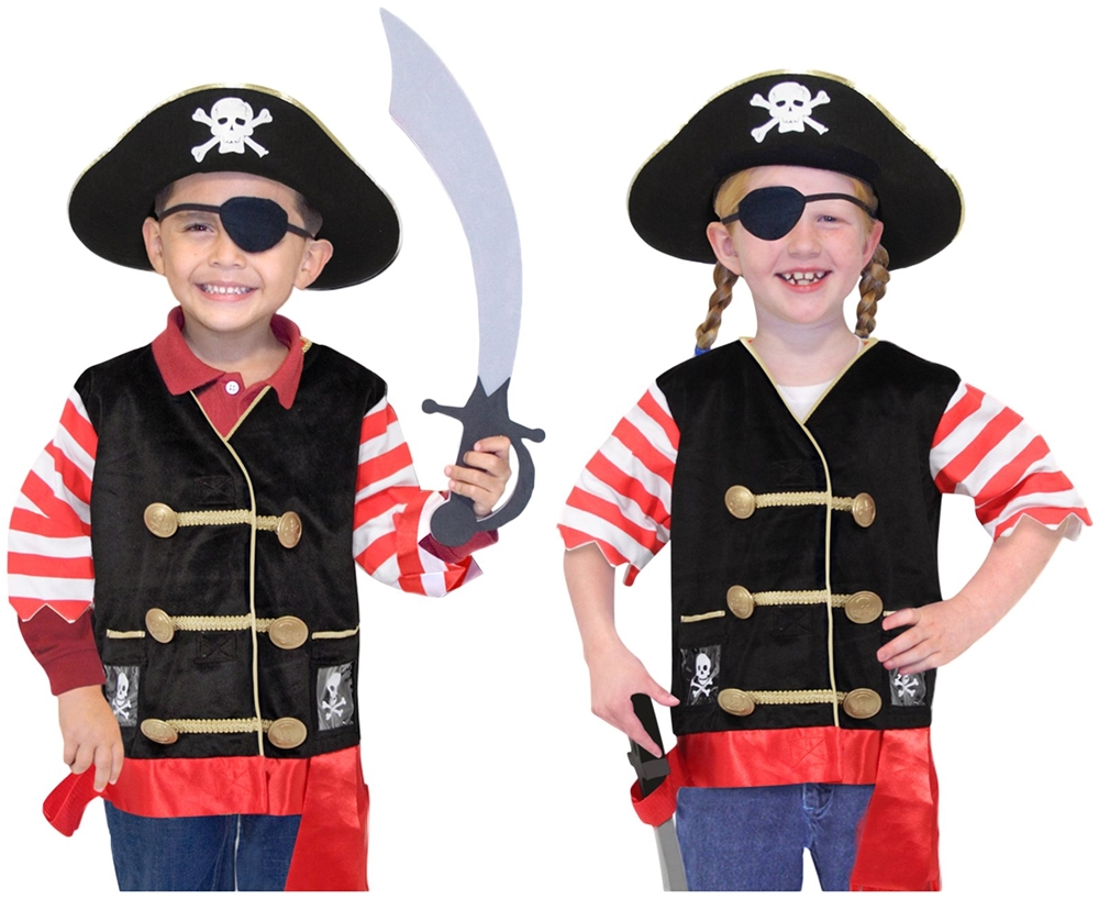 Pirate Role Play Costume Set (Play Costumes)