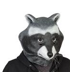 Raccoon-Adult-Latex-Mask