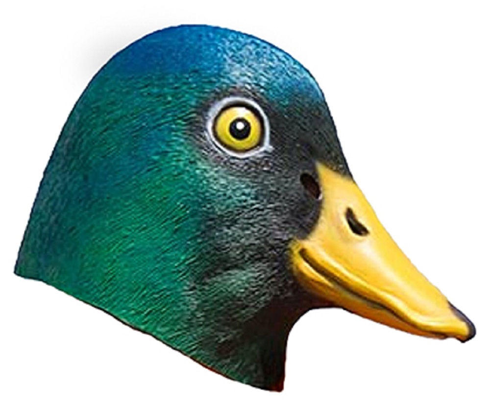 Mallard Duck Latex Mask