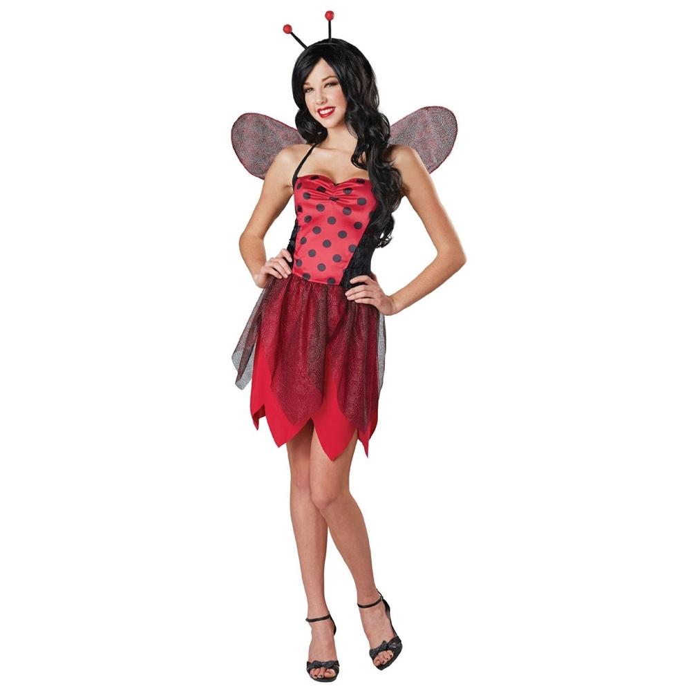 Miss Sassy Ladybug Adult Womens Costume