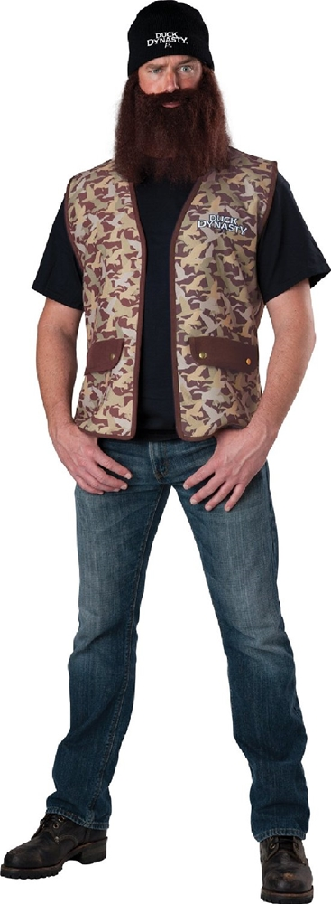Duck Dynasty Jase Adult Mens Costume 843269030216