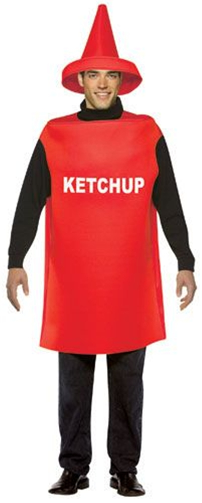 Ketchup Adult Mens Costume