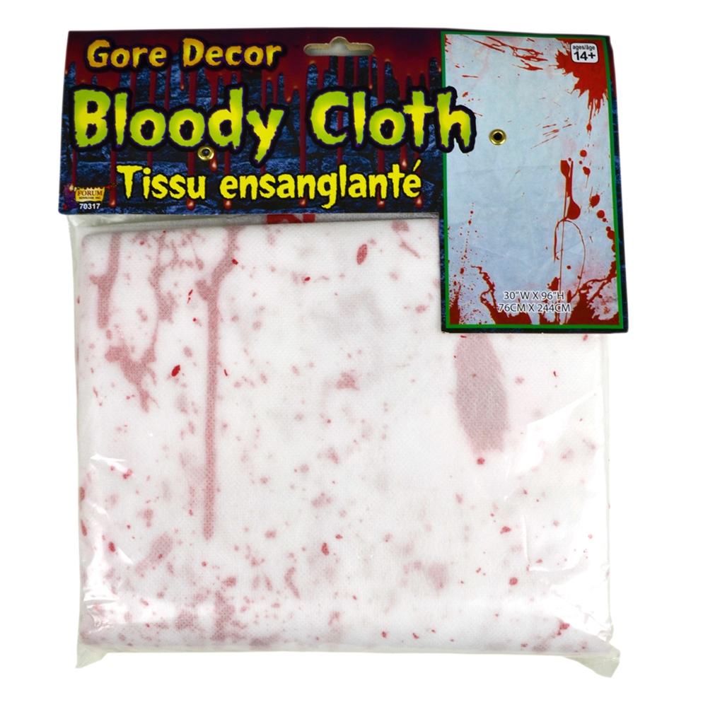Gruesome Bloody Cloth
