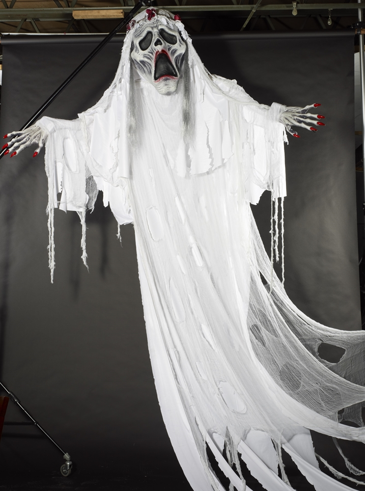 Ghost Bride Hanging Prop 12ft 370746 Trendyhalloween Com