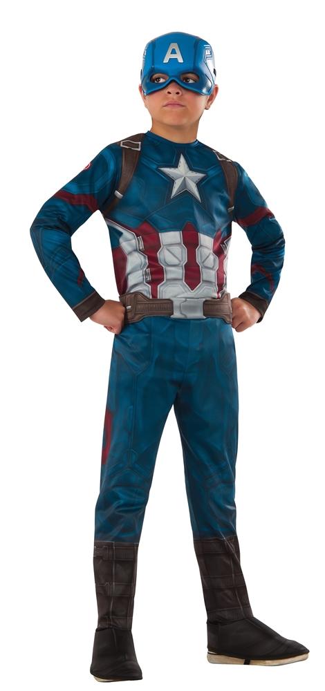 Captain America: Civil War Captain America Child Costume 620580